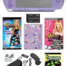 Sony PSP Limited Edition Hannah Montana Bundle w/ 20+ Games & Camera