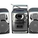 Supersonic SC-903CD AM/FM Stereo Cassette Recorder and CD Player + Remote Control