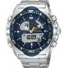Pulsar PP4005 Men's Tech Gear Analog-Digital Silver-Tone Watch