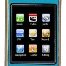 8GB TOUCH SCREEN PERSONAL MEDIA PLAYER (BLUE)