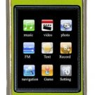 4GB TOUCH SCREEN PERSONAL MEDIA PLAYER (Green)
