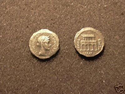 (RR-23) Denarius of Fontus Capito  COPY