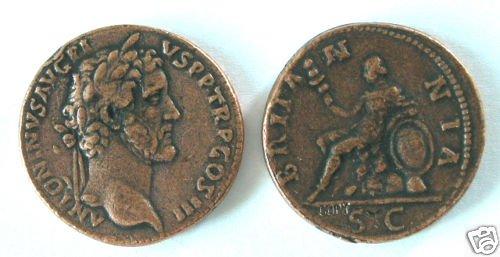 (DD S-59) Sestertius of Antoninous Pius COPY