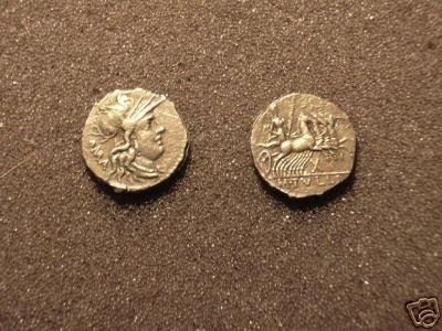 (RR-27) Denarius of M. Tullius COPY