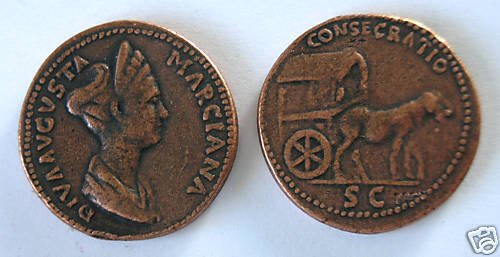 (DD S-53) Sestertius of Marciana COPY