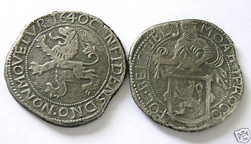 CC-17 Dutch Lion Dollar of 1640 COPY