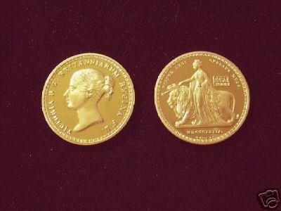(MC R12-4) 5 Pound Victoria 'Una & Lion' COPY