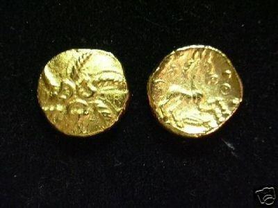 (MR 184) Celtic Trinovantes Gold Stater COPY