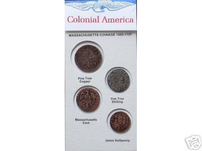 (DD-S 105) Mass. Coinage 1660-1777 COPY