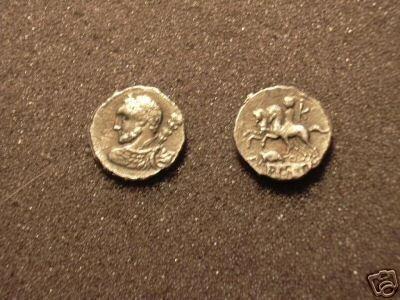 (RR-15) Denarius of Ti. Quinctius COPY