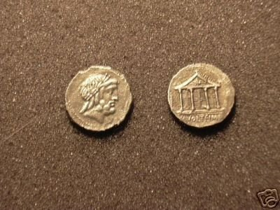 (RR-14) Denarius of M.Volteius COPY