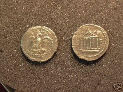 (RR-11) Denarius of Petellus Capitalanus COPY