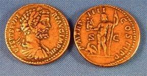 (DD S-76) Sestertius of Septimus Severus COPY