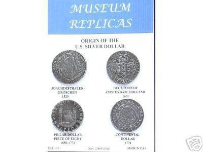 (DD-S 103) Origin US Silver Dollar COPY