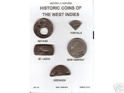 (DD-S 113) Hist Coins of W. Indies  COPY