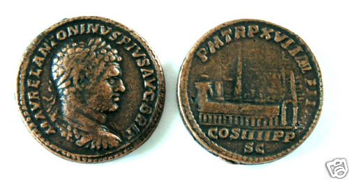 (DD S-78) Sestertius of Caracalla COPY