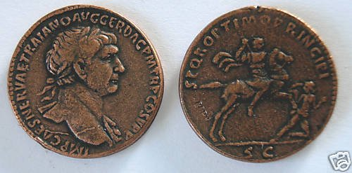 (DD S-50) Sestertius of Trajan COPY