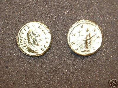 (GA-27) Aureus of Claudius II Gothicus  COPY