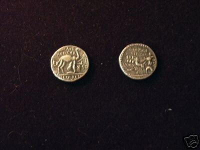 (RR-41Z-10) Denarius of M.Aemilius COPY