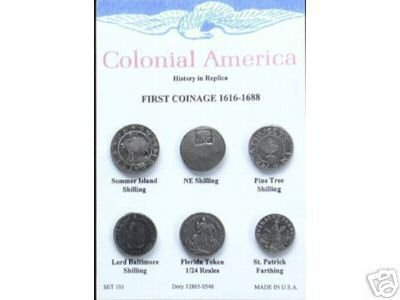 (DD-S 101) Colonial America-First Coin COPY