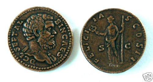 (DD S-75) Sestertius of Clodius Albinus COPY