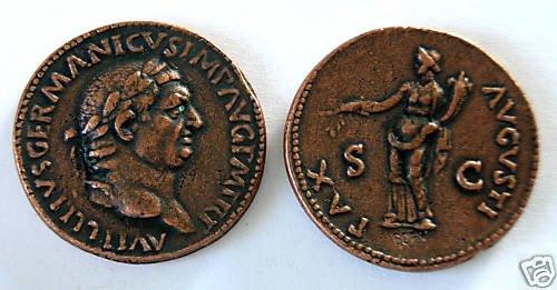(DD S-39) Sestertius of Vitellius COPY
