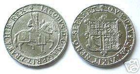 REPLICA COINS-523 1710 Crown of James I COPY