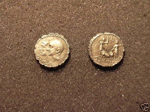 (RR-34) Denarius of C.Sulpicius C.f. COPY