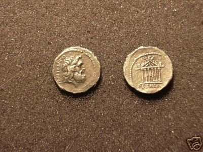 (RR-20) Denarius of Petillius Capitali COPY