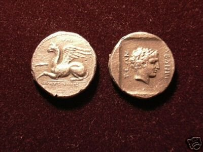 B 034 (DD-03425) Greek Stater of Abdera COPY
