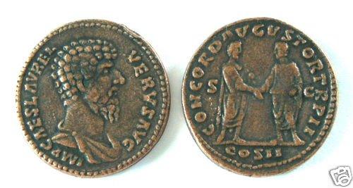 (DD S-65) Copper As of Lucius Verus COPY