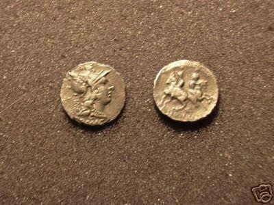 (RR-24) Denarius of C.Servilius M.f. COPY