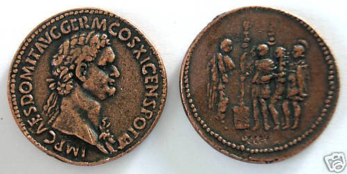 (DD S-47) Sestertius of Domitian COPY