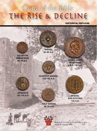 (DM B 102) Coins of Bible - Rise & Decline