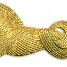 Goldtone Horse Brooch and clip earrrings