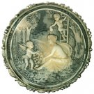 Large Round Cameo Brooch