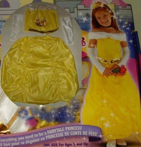 New BELLE Princess Costume Dress sz 3-4y Halloween