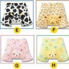 NWT Cartoon Shorts Cow Leopard Rabbit Bear 12/18m 2T 3T