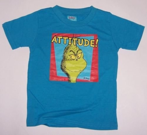[18/24 mos] New Dr Seuss Grinch T-Shirt *ATTITUDE* Baby Boy