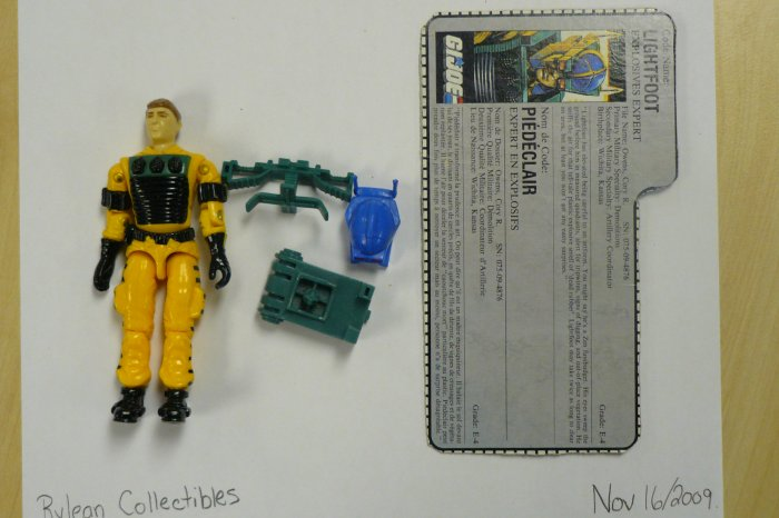 Hasbro GI Joe (original run) (1988) -Lightfoot