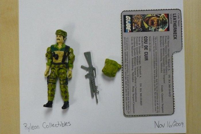 Hasbro GI Joe (original run) (1987) -Leatherneck