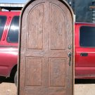 Hand Carved Pine Arch Door