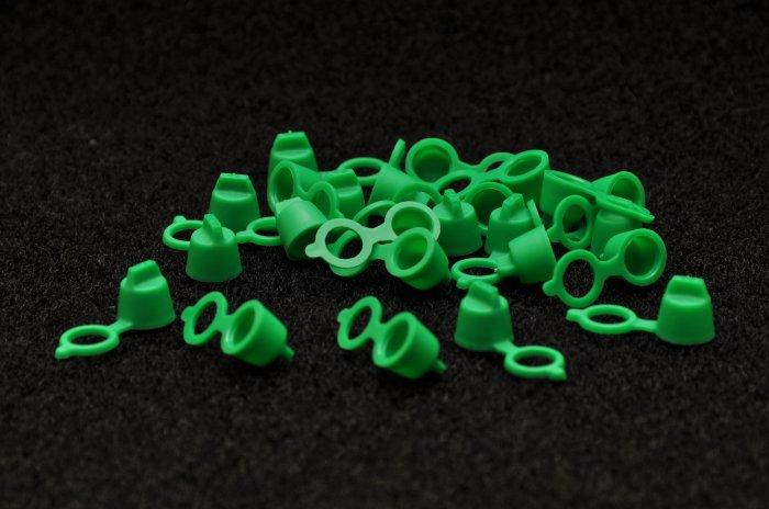 GREASE CAPS  GREEN (5000 pcs)