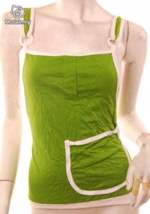 Cute pocket vibrant green overal apron bib top s free shipping :  tops clothing shoes shirts womens clothing