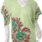 Artsy print slash kimono slv caftan top m-l free shipping