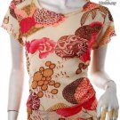 2010 TRENDS RUNWAY FASHION CLOTHING ASIAN FUSION ORIENTALSM TREND TOP M-L