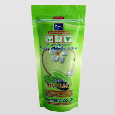 1 pack Yoko CUCUMBER Spa Salt, 300 grams, Free Shipping Worldwide