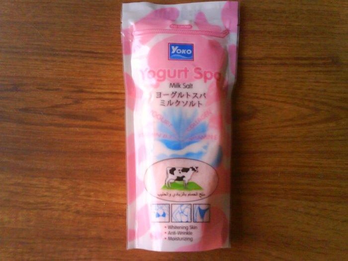 1 pack Yoko Yogurt Spa milk salt, 300 grams