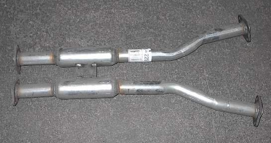 90-96 Nissan 300ZX 2+2 H Resonator Pipe 2 Rear Mufflers