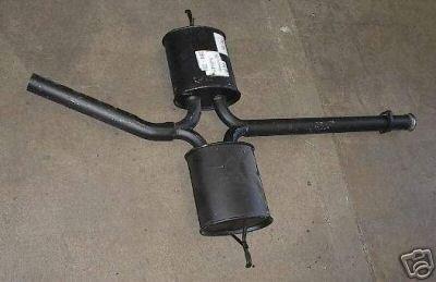 Center Muffer 81-85 Mercedes 300SD Turbo Diesel 126.120